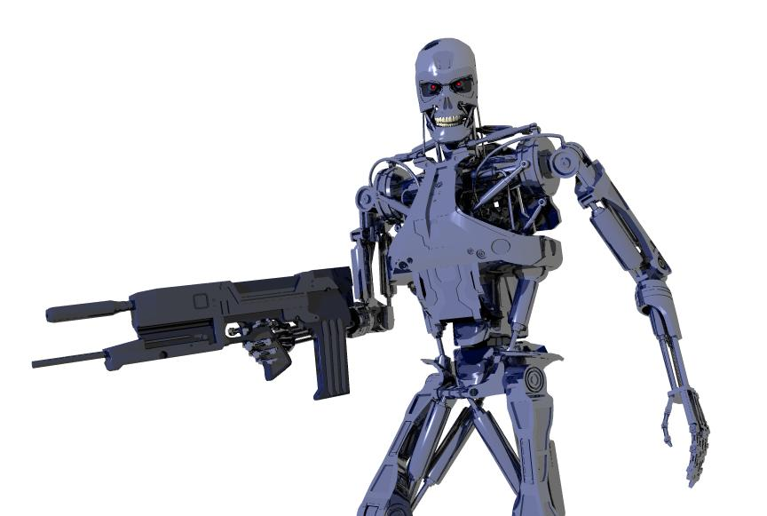 terminator endoskeleton wallpaper
